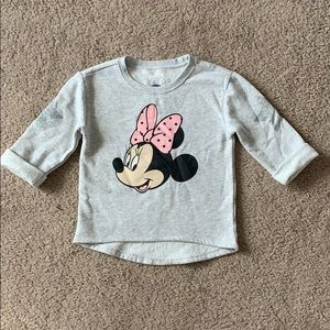 Old Navy Girls Minnie Mouse Sweatshirt Size 5T